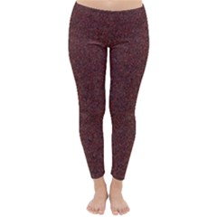 GRANITE RED 1 Winter Leggings