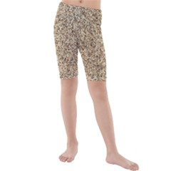 GRANITE BROWN 3 Kid s Mid Length Swim Shorts