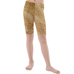 GRANITE BROWN 2 Kid s Mid Length Swim Shorts