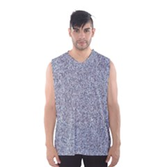 GRANITE BLUE-GREY Men s Basketball Tank Top