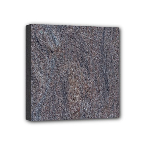 GRANITE BLUE-BROWN Mini Canvas 4  x 4