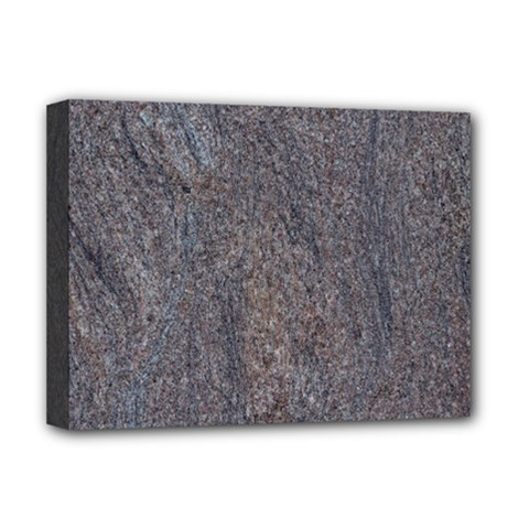 GRANITE BLUE-BROWN Deluxe Canvas 16  x 12