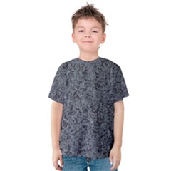 GRANITE BLUE-BLACK 3 Kid s Cotton Tee