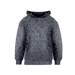 GRANITE BLUE-BLACK 3 Kid s Pullover Hoodies