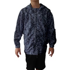 Granite Blue Black 3 Hooded Wind Breaker (kids)