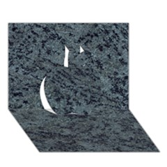 Granite Blue Black 2 Apple 3d Greeting Card (7x5)