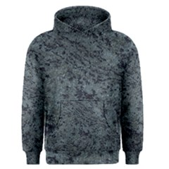 Granite Blue Black 2 Men s Pullover Hoodies