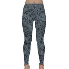 GRANITE BLUE-BLACK 2 Yoga Leggings