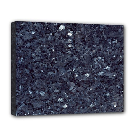 GRANITE BLUE-BLACK 1 Deluxe Canvas 20  x 16