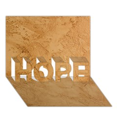 Faux Stone Hope 3d Greeting Card (7x5)