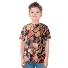COLORED ROCKS Kid s Cotton Tee
