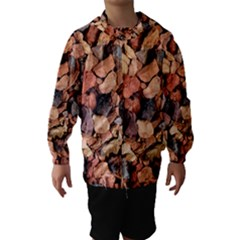 COLORED ROCKS Hooded Wind Breaker (Kids)