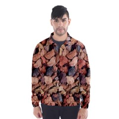 Colored Rocks Wind Breaker (men)