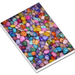 Colored Pebbles Large Memo Pads