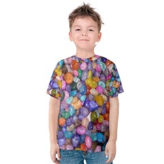 Colored Pebbles Kid s Cotton Tee