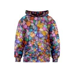 COLORED PEBBLES Kid s Pullover Hoodies