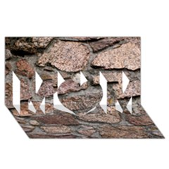 CEMENTED ROCKS MOM 3D Greeting Card (8x4)