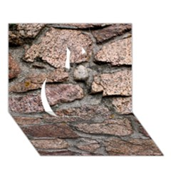 CEMENTED ROCKS Apple 3D Greeting Card (7x5)
