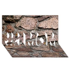 Cemented Rocks #1 Mom 3d Greeting Cards (8x4)