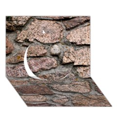 CEMENTED ROCKS Circle 3D Greeting Card (7x5)