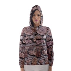 CEMENTED ROCKS Hooded Wind Breaker (Women)