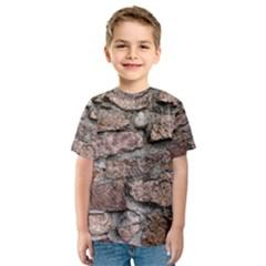 CEMENTED ROCKS Kid s Sport Mesh Tees