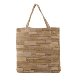 BLOCK WALL 2 Grocery Tote Bags