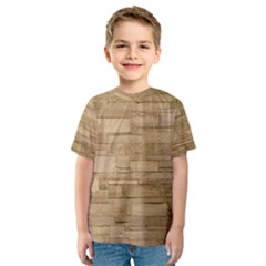 Block Wall 2 Kid s Sport Mesh Tees