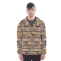 Block Wall 1 Hooded Wind Breaker (men)
