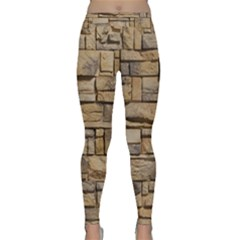 BLOCK WALL 1 Yoga Leggings