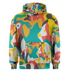Cubist Art Men s Pullover Hoodie