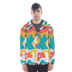 Cubist Art Mesh Lined Wind Breaker (men)