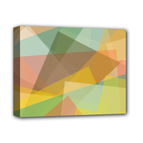Fading shapes Deluxe Canvas 14  x 11  (Stretched)
