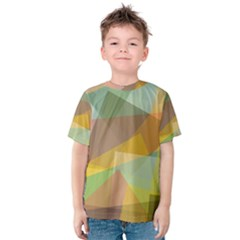 Fading shapes Kid s Cotton Tee