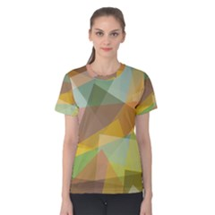 Fading shapes Women s Cotton Tee