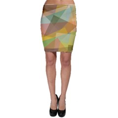 Fading shapes Bodycon Skirt