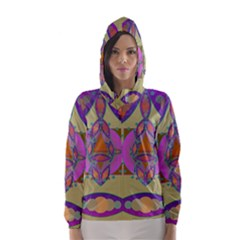 Mandala Hooded Wind Breaker (Women)