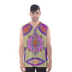 Mandala Men s Basketball Tank Top