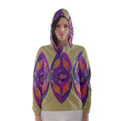 Fly Mandala Hooded Wind Breaker (women)