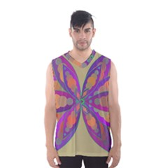 Fly-Mandala Men s Basketball Tank Top