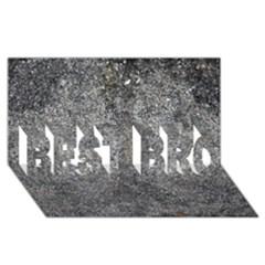 BLACK MICA BEST BRO 3D Greeting Card (8x4)