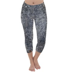 BLACK MICA Capri Winter Leggings