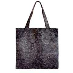 Black Mica Zipper Grocery Tote Bags