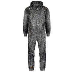 BLACK MICA Hooded Jumpsuit (Men)