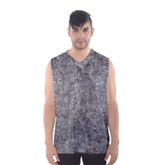 Black Mica Men s Basketball Tank Top