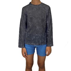 BLACK MARBLE Kid s Long Sleeve Swimwear