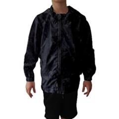 BLACK MARBLE Hooded Wind Breaker (Kids)