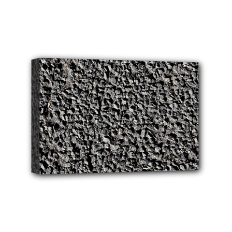 BLACK GRAVEL Mini Canvas 6  x 4