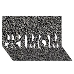 BLACK GRAVEL #1 MOM 3D Greeting Cards (8x4)