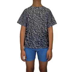 BLACK GRAVEL Kid s Short Sleeve Swimwear